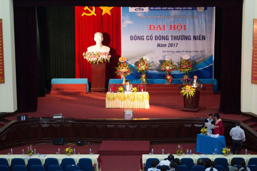 Đại hội cổ đông HDPHARMA - since 1961 năm 2017